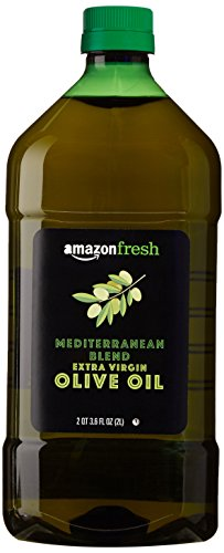 AmazonFresh Mediterranean Extra Virgin Olive Oil, 68 Fl Oz (2L) (Olive Oil Soap Making)
