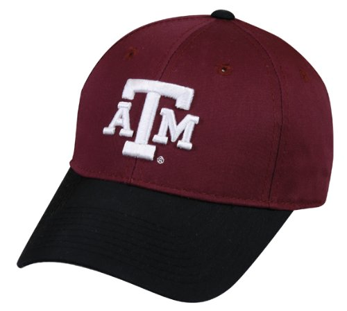 (Texas A&M Aggies YOUTH Cap Officially Licensed NCAA Authentic Replica Baseball/Football Hat)