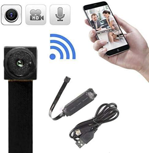 kahuorey WiFi Mini Spy Cámara Oculta Microcámara espía HD 720P con ...