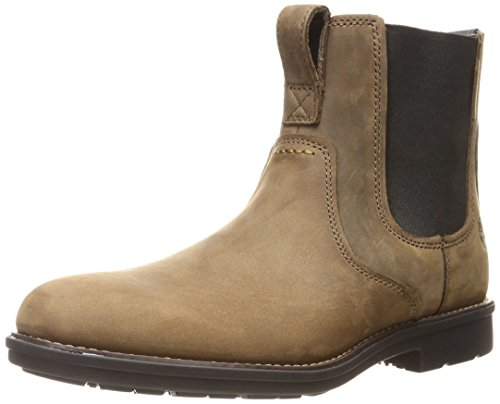 Timberland Men's Carter Notch PT Chelsea Boot, Olive Full Grain, 9 M US