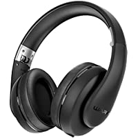Want Sentey Wired Headphones Warp Pro Black Rubber Painting LS-4422 Over-the-Ear with Detachable 3.5mm In-Line Microphone... online