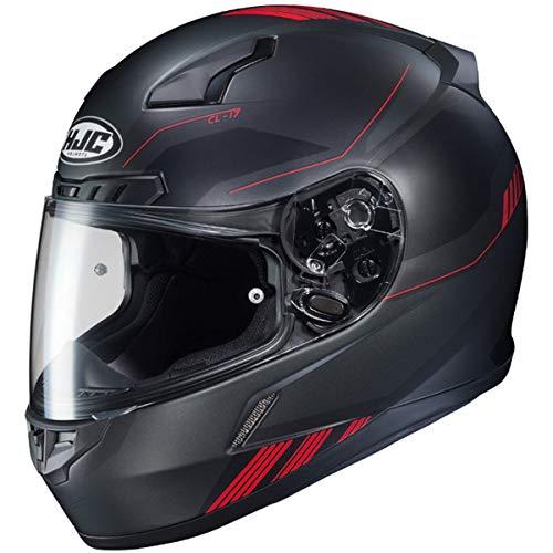 HJC CL-17 Helmet - Combat (Medium) (Black/RED) (Best Combat Helmet In The World)