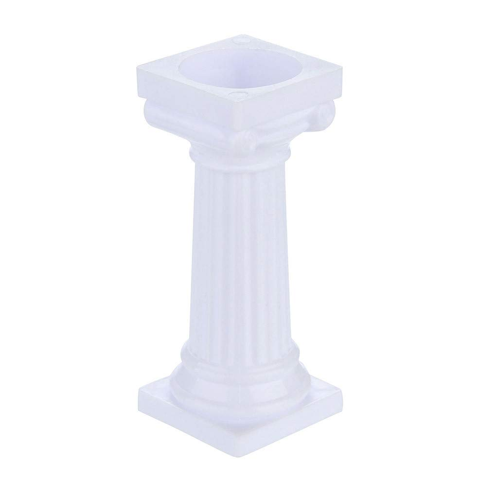 Euone  Cake Pillars Clearance, 4pcs Multi-Layered Cake Roman Column Support Stand Decor Pillars Wedding Cake by Euone (Image #3)