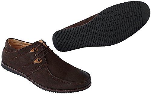 Herren Schuhe Halbschuhe Slipper Sommer Gr. 40 - 46 Art.-Nr.119 braun Braun