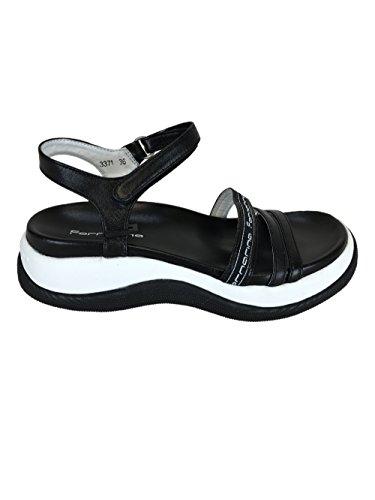 Fornarina Mujer zapatos con correa negro