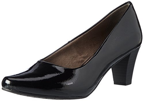black Femme Noir 22423 Tamaris Patent Escarpins BAwPAqU4