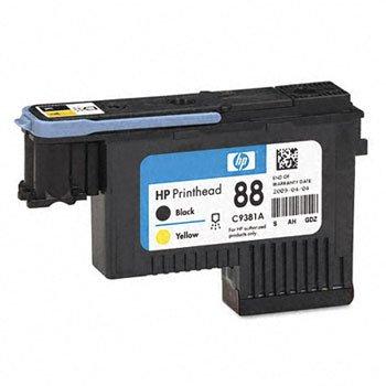 HEWLETT PACKARD COMPANY - PRINTHEAD,F/ HP 88, BK/YW