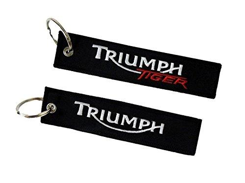 Triumph Tiger Llavero Doble Cara