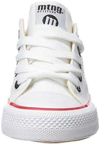 MTNG Emi, Zapatillas de Deporte Para Niños Blanco (Canvas Blanco)