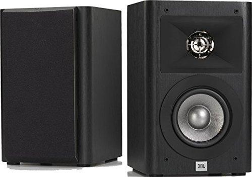 JBL Studio 220 - Paire d'Enceintes d'Etagères 2-Voies 10 cm (4'') - Noir Vinyle