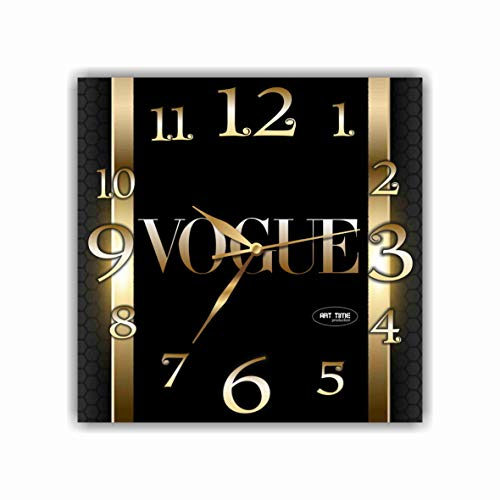 shyleonmagaz Exclusive Clock Vogue (Magazine) - Unique Item for Home and Office, Original Present for Every Occasion. (Ideas For Topics For A Fashion Magazine)