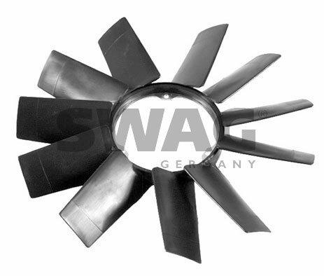 (SWAG Engine Cooling Fan Wheel Fits BMW E39 E38 E34 E32 E31 Wagon 11521712110)