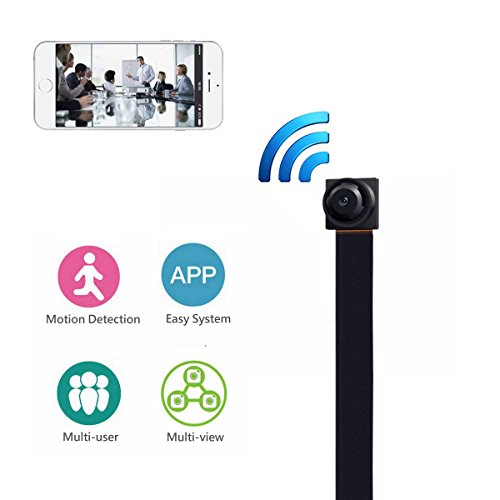 MAGENDARA WIFI Spy Hidden Camera, Mini wireless hidden Camera 720P P2P Camera Motion Detection Wireless Video recorder