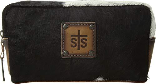STS Ranchwear Women's Bebe Cosmetic Bag Cowhide/Tornado Brown One Size