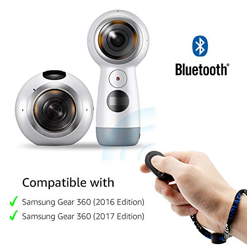 Aobelieve Bluetooth Remote Shutter for Samsung Gear 360 2016