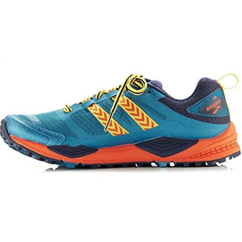 para Correr Blue para Zapatillas Navy Montaña en Azul Mujer de Sintético Brooks Orange nqU0BwEPB