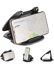 Modohe Handyhalterung Auto, 360° Sockel-drehbar Kfz Armaturenbrett Universal rutschfest Handyhalter für iPhone XR XS Max X 8 7 6s Plus Samsung S10 S9 Huawei P20 und alle 3.5-6.5 Zoll Smartphones