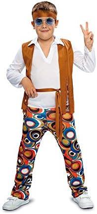 Disfraz de Hippie para niño: Amazon.es: Juguetes y juegos