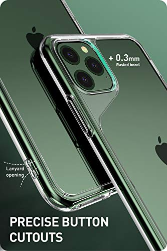 i-Blason [Halo Series] Case Cover for iPhone 11 Pro Max, Scratch Resistant Clear Case Cover for iPhone 11 Pro Max 6.5 inch 2019 Release (Clear)