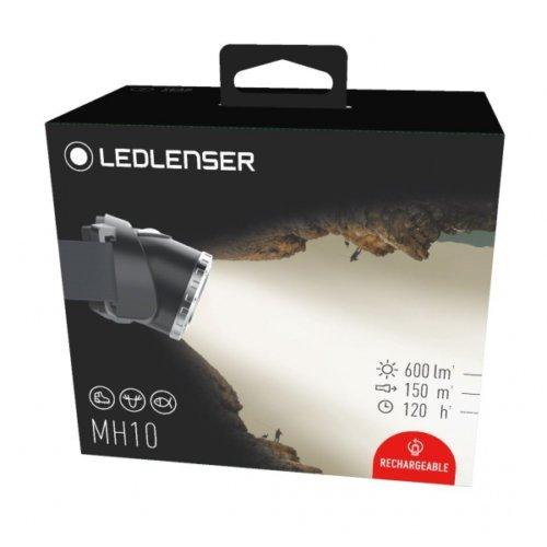 Outdoor Series 600/Lumen LED LENSER MH10/Scheinwerfer Wiederaufladbare Taschenlampe