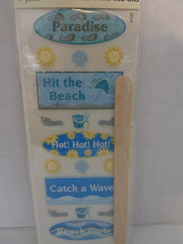 One Pack of Cloud 9 Rub-on Sparkle Beach