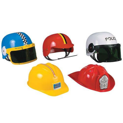 Career Hats (Set of 5) - Career Costumes For Kids