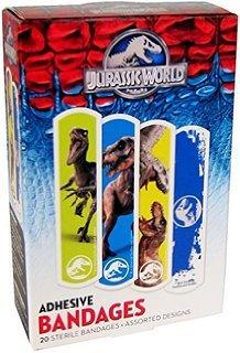 Price comparison product image Jurassic World Adhesive Bandages,  Box of 20