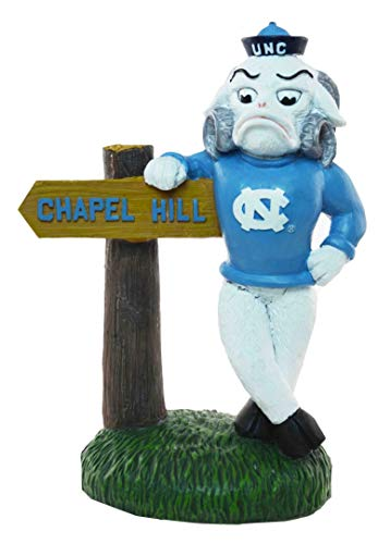 Oxbay North Carolina Tar Heels Rameses Statue Chapel Hill Sign