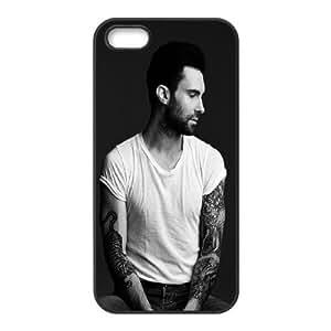 [MEIYING DIY CASE] For Apple Iphone 5 5S Cases -Singer Adam Levine-IKAI0447854
