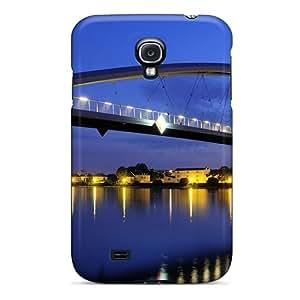 MarilouLCarlson UussCHo5557pMzMi Case Cover Galaxy S4 Protective Case Lovely Arch Pedestrian Bridge At Night