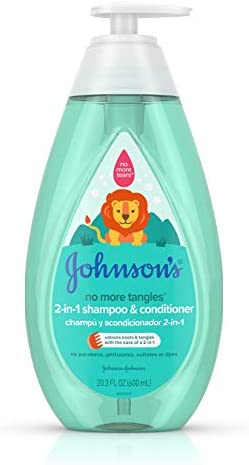 Johnsons Detangling Toddler Shampoo Conditioner product image