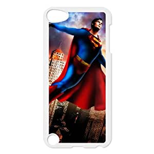 iPod Touch 5 Case White Superman F4J2G