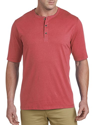 g and Tall Wicking Henley (Big And Tall Henley Shirts)
