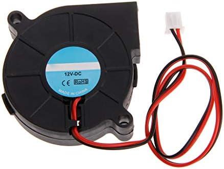Gjyia Impresora 3D Ventilador 5015 DC 50X50x15mm 0.23A Soplador de ...