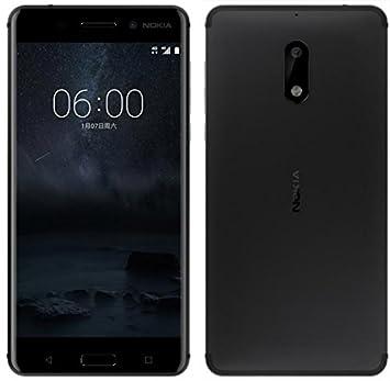 nokia 6 uk. nokia 6 dual sim 64gb arte black: amazon.co.uk: computers \u0026 accessories uk