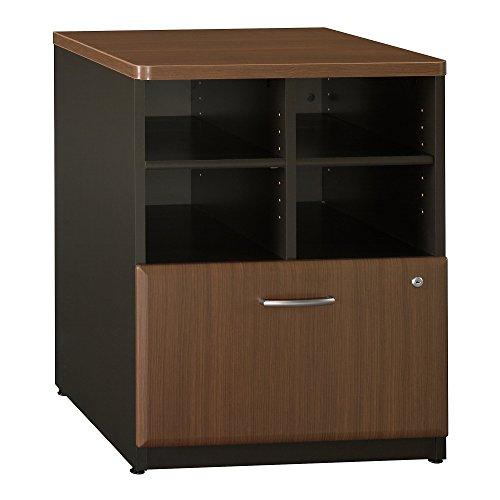 Bush Business Furniture Series A Collection 24W Piler Filer in Sienna Walnut