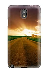 Hot Excellent Galaxy Note 3 Case Tpu Cover Back Skin Protector Highway To Horizon 3999268K54910056