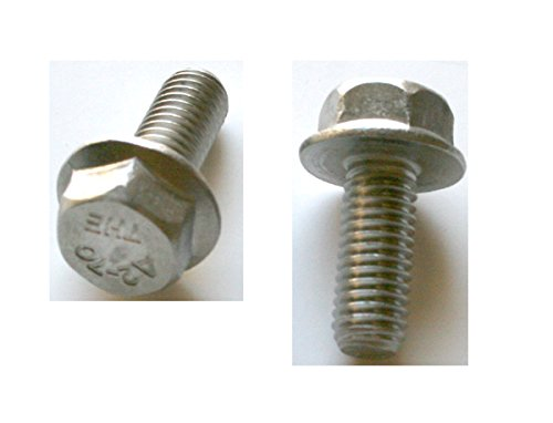 25 M8 - 1.25 x 20mm A2-70 Stainless Hex Flange Bolts by Clipsandfasteners Inc