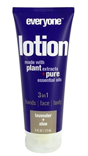 (Everyone 3-in-1 Lotion, Lavender & Aloe, 6 oz Each (Pack of)