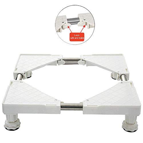 4 Feet Washing Machine Base Adjustable Sized Telescopic Furniture Dolly for Washing Machineand -