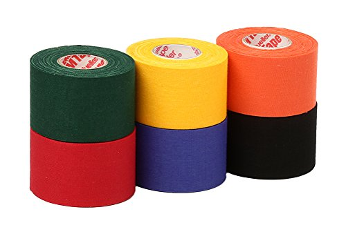 Mueller Athletic Tape Sports Tape, Mixed 6 rolls
