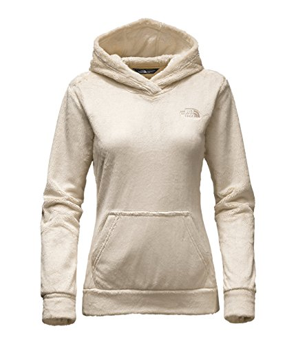 The North Face Women's Osito Fleece Hoodie (Small, Vintage White) by The North Face