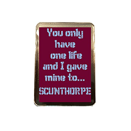 fan products of Scunthorpe United F.C - One Life Fridge Magnet