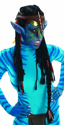 Rubie's Costume Co Avatar Deluxe Wig And Ears, Neytiri-Standard