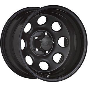 Black Rock Type 8 17x9 Black Wheel / Rim 5x4.5 with a -12mm Offset and a 83.82 Hub Bore. Partnumber 997791245 ()