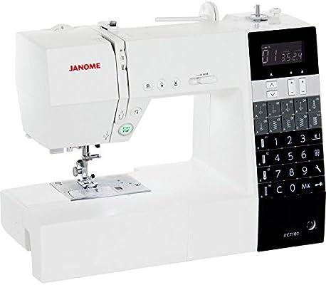 Janome Decor Computer 7100 - Máquina de coser: Amazon.es: Hogar