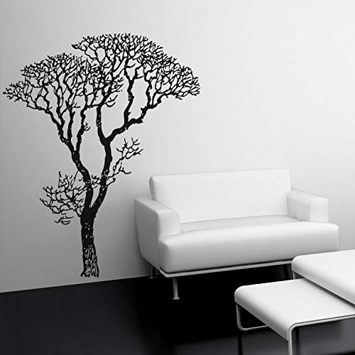 7ft Tall Bare Autumn Tree Wall Decal. Bedroom, Living Room, Home Decor. You pick the color. #240-7ft