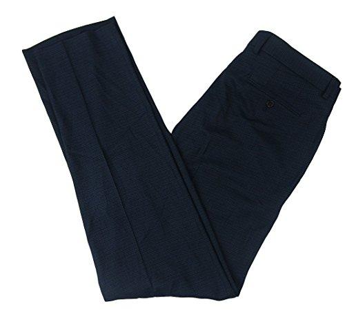 Lauren Ralph Lauren Men's Classic-Fit Houndstooth Ultra-Flex Dress Pants (Blue, 34W x ()