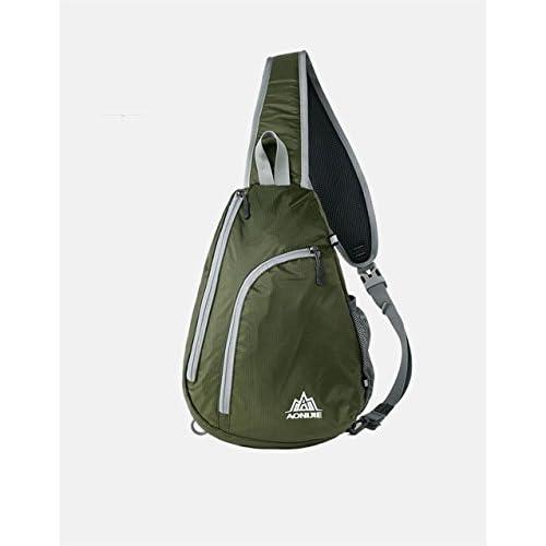 2b1a3f46b4 Keep outdoor Shoulder Backpack Sling Chest CrossBody Bag Waterproof Running  Bag