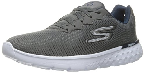 Skechers Performance Herren Go Run 400 Disperse Laufschuh Grau (Ccnv)